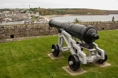 Cannon overlooking St Mary Royalty Free Stock Images