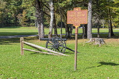Cannon At The Parade Grounds In Letchworth State Park Stock Photos
