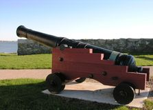 A cannon from the past Royalty Free Stock Photography