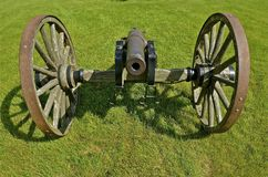 Cannon ready for firing Stock Image