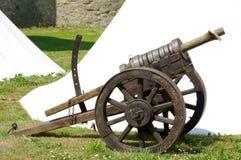 Cannon replica gun historical Royalty Free Stock Image