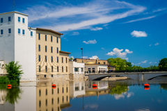 Cannon river, northfield reflections Stock Photography