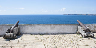 Cannon in Sagres Stock Image