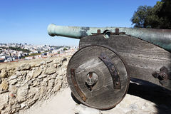 Cannon of Saint George Castle Stock Images