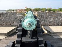 Cannon, San Marcos, St. Augustine, Florida Stock Photo