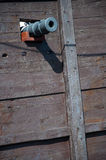 Cannon of the Santa Maria, Columbus' ship Royalty Free Stock Photos