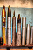 Cannon shells Stock Photography