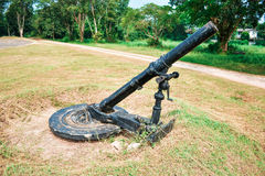 Cannon Size 42 mm. Stock Photo
