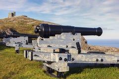 Cannon in St. John`s, Newfoundland of St. John`s, Newfoundland. St. John`s, Newfoundland stock photography