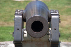 Cannon Straight On Royalty Free Stock Photo