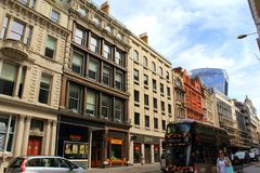 Cannon Street City Of London England Royalty Free Stock Image