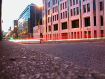 Cannon Street, London. Random nightshot Cannon Street, London, UK, 2005 Stock Photography