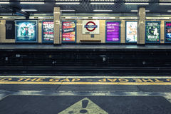 Cannon Street underground station Royalty Free Stock Photography