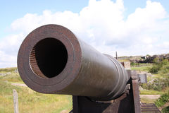 Cannon in Suomenlinna, Finland Stock Images