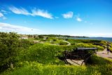 cannon on Suomenlinna fortress  Stock Photo