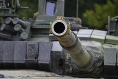 Cannon T-72 tank Stock Photography