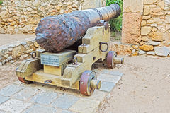 Cannon in Tarragona, Spain Stock Photos
