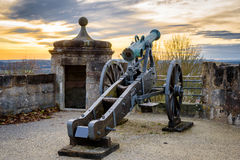 Cannon to protect the fortress Royalty Free Stock Photography