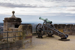 Cannon to protect the fortress Stock Images