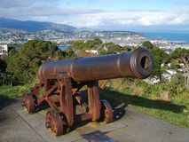 Cannon on the top of Mountain Victoria Royalty Free Stock Photo