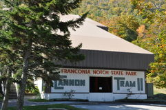 Cannon Tram, Franconia Notch State Park, New Hampshire Royalty Free Stock Photo