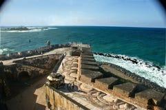 Cannon view at El Morro stock image