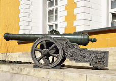 Cannon was cast in bronze in 1629 Royalty Free Stock Image