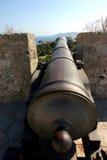 Cannon weapon in ibiza. Cannon in ibiza. cannon weapon in ibiza Royalty Free Stock Photos