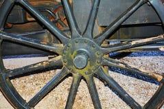 Cannon wheel and Castello, Conegliano Veneto, Treviso, Italy Royalty Free Stock Photography
