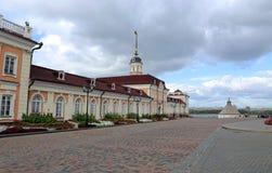Cannon yard Kazan Kremlin (main building) Royalty Free Stock Photography