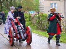 Cannon, Zawieprzyce, Poland Stock Images