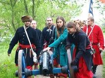 Cannon, Zawieprzyce, Poland Stock Photo