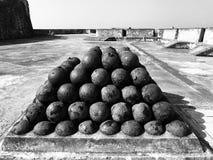 Cannonball Pyramid stock image