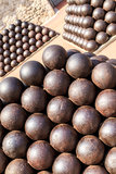 Cannonballs Stock Image