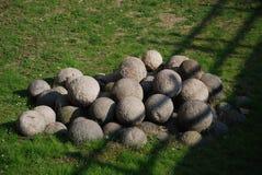 cannonballs Στοκ φωτογραφίες με δικαίωμα ελεύθερης χρήσης