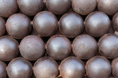 Cannonballs Royalty Free Stock Images