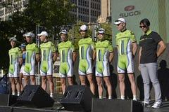 Cannondale Fachmann-Radsportteam Lizenzfreie Stockfotografie
