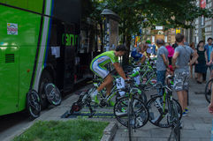 Cannondale-Team Stockfotos