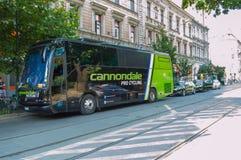 Cannondale-Team Lizenzfreie Stockfotografie