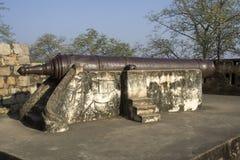 Cannone alla fortificazione di Jhansi Immagini Stock Libere da Diritti