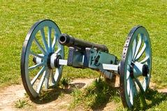 Cannone alla sosta nazionale della forgia della valle immagine stock libera da diritti