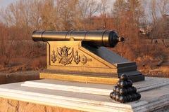 Cannone antichissimo. Immagine Stock
