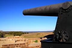 Cannone confederato immagine stock libera da diritti