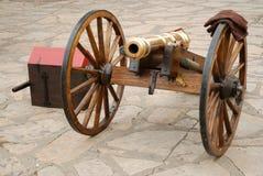 Cannone d'ottone Fotografia Stock