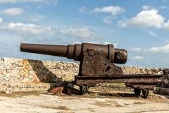 Cannone del ferro Fotografie Stock