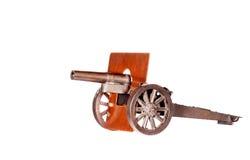Cannone del giocattolo dell'annata Fotografia Stock