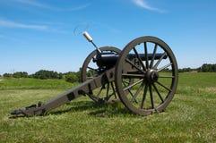 Cannone della guerra civile Immagini Stock Libere da Diritti