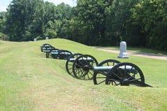 Cannone della guerra civile Fotografie Stock