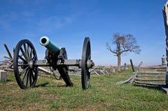 Cannone della guerra civile Fotografia Stock Libera da Diritti