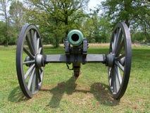 Cannone della guerra civile Immagini Stock